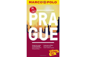 Prague Marco Polo Pocket Travel Guide - with pull out map