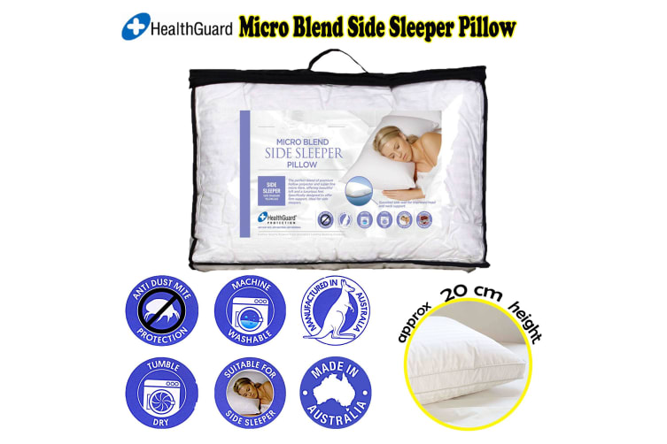Micro Blend Side Sleeper Pillow by Easyrest