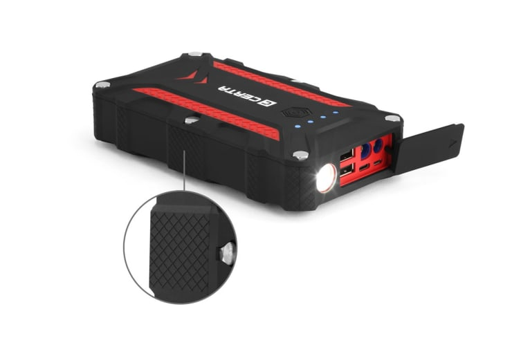 Certa Water Resistant Portable Jump Starter