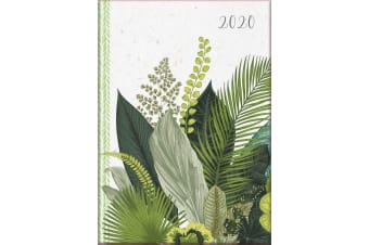 Botanicals - 2020 Diary Planner A5 Padded Cover by The Gifted Stationery