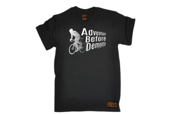 Ride Like The Wind Cycling Tee - Adventure Before Dementia Mens T-Shirt