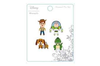 Toy Story Enamel Pin 4 Pk