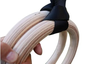 Birch Wood Gymnastic Rings