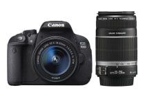 Canon EOS 700D DSLR 18-55mm IS STM & 55-250mm IS II Lens Kit