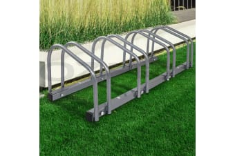1  4 Bike Floor Parking Rack Instant Storage Stand Bicycle Cycling Portable GR