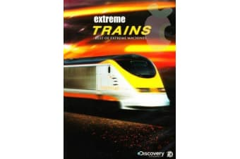 Best Of Extreme Machines Extreme Trains -Educational Series DVD NEW