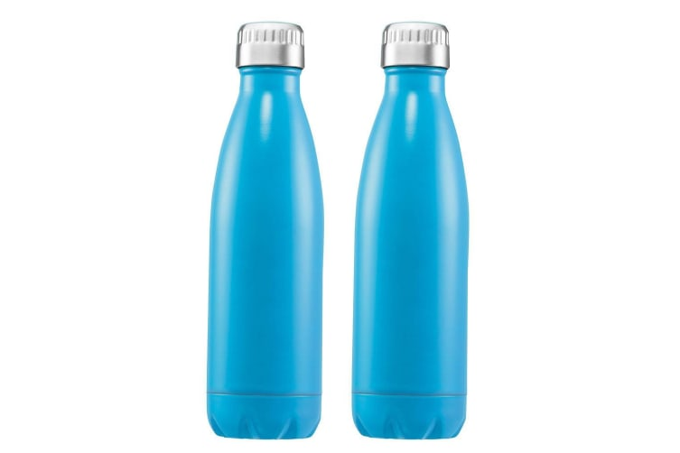 2x Avanti 1L Water Vacuum Thermo Flask Bottle Stainless Steel Cold Hot Drink BL