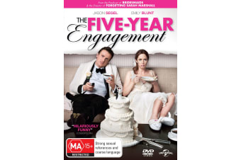 The Five year Engagement DVD Region 4