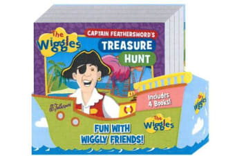 Wiggles Fun with Wiggly Friends - Shaped 4-Book Slipcase