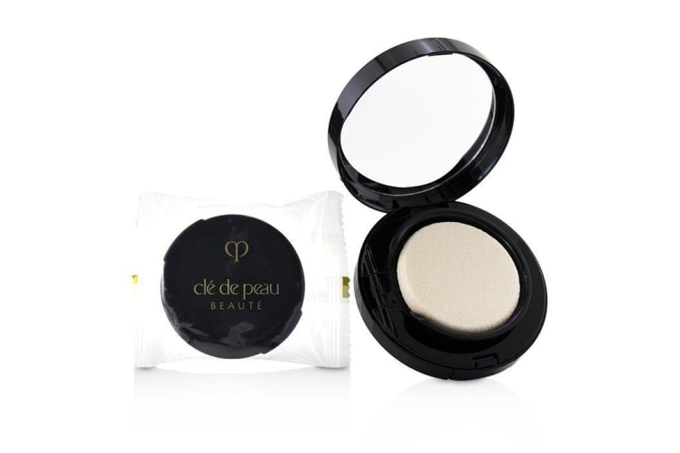 Cle De Peau Radiant Cream To Powder Foundation SPF 25 - # I10 (Very Light Ivory) 12g