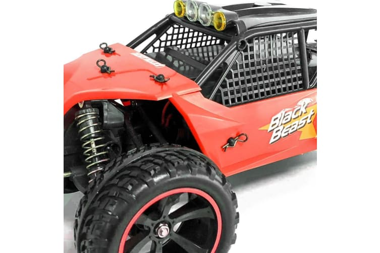 Rusco Racing Pack RC 1:12 The Red Beast Buggy - 2.4GHz