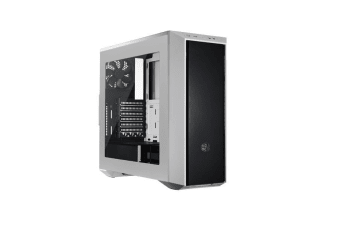 Cooler Master MasterBox 5 White Mid Tower Chassis With DarkMirror Front Panel