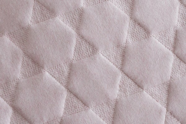 Gioia Casa Quilted Jersey Quilt Cover (Queen, Pink Marble)