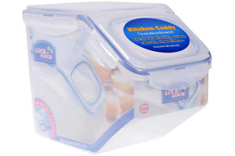 Lock & Lock Rectangular Tapered Food Container 5.0L with Flip Lid