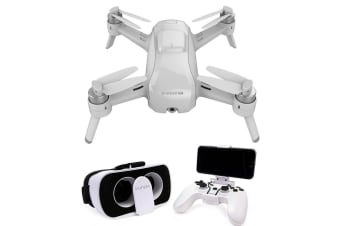 Yuneec Breeze 4K 13MP Images Drone Bundle w/3 Batteries/ FPV Controller/Goggles