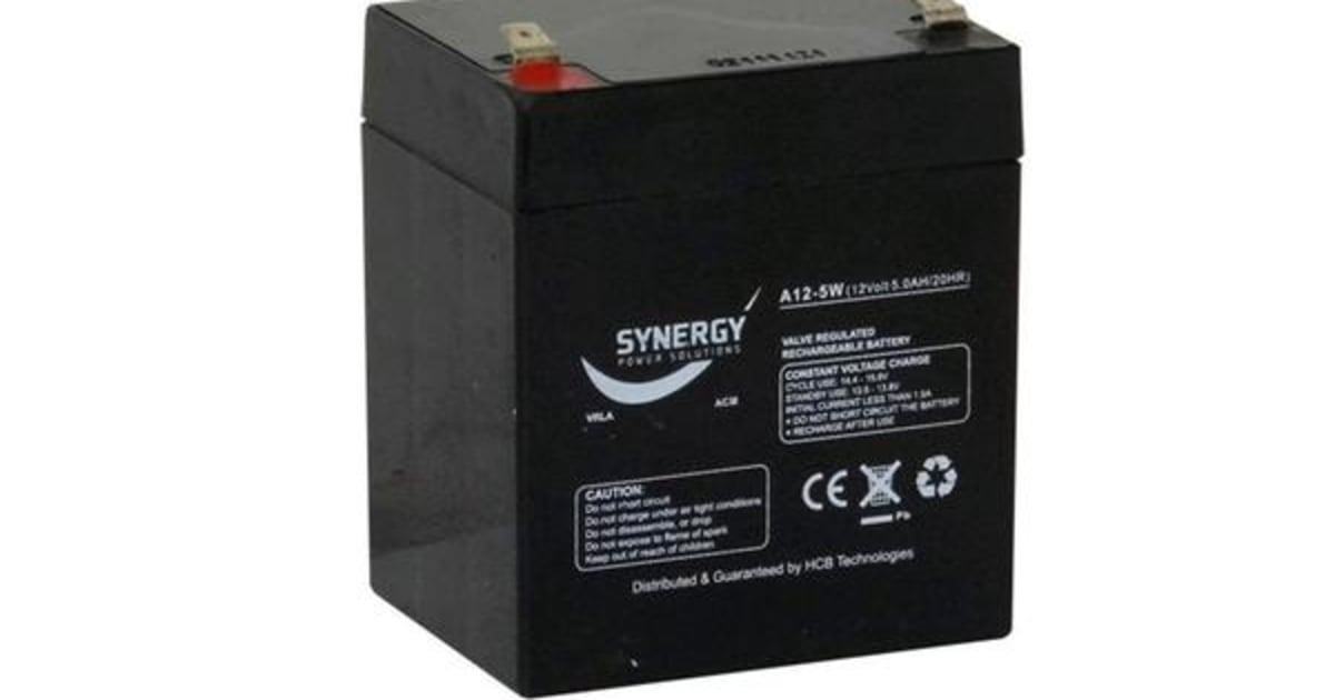 Battery Warehouse Direct : Synergy a w battery agm rechargeable kogan