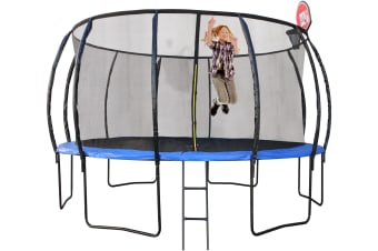 Trampoline 10ft With Basketball Hoop