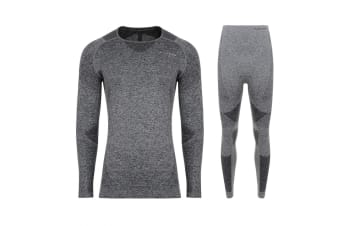 Dare 2B Mens Zonal III Base Layer Set (Charcoal/Grey)