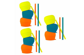 9pc Boon Snug Straw - Boy