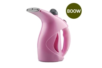 SOGA Hand Held Steam Cleaner Garment Clothes Steamer Compact Portable Quick Heat Pink