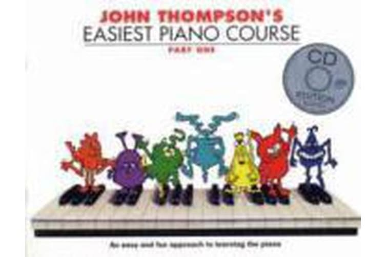 John Thompson's Easiest Piano Course - Part One (Book And CD)