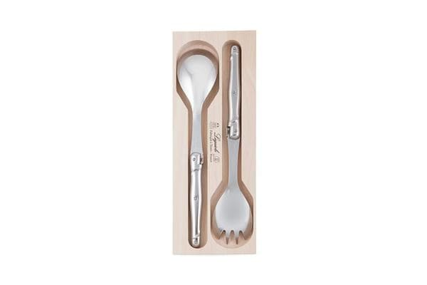 Laguiole by Andre Verdier Debutant Salad Spoon Set Stainless