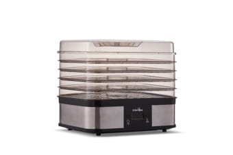 5 Star Chef Food Dehydrator with 5 Trays (Silver)