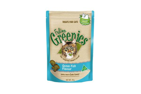 Greenies Feline Ocean Fish Flavour