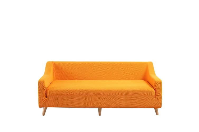 Dreamz Couch Stretch Sofa Lounge Cover Protector Slipcover 3 Seater Orange New