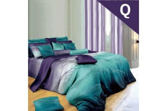 Queen Size RHYTHM Design Quilt Cover Set