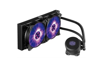 Cooler Master MasterLiquid Lite ML240L All in One Watercooling Dual RGB 240 fans - Performance 240mm