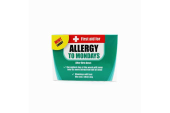 First Aid Novelty Work Allergy Mints For The Office - Allergy To Mondays