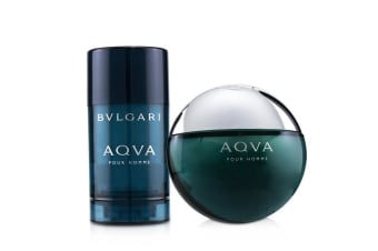 Bvlgari Aqva Pour Homme Coffret: EDT Spray 100ml/3.4oz + Deodorant  Stick 75ml/2.7oz 2pcs