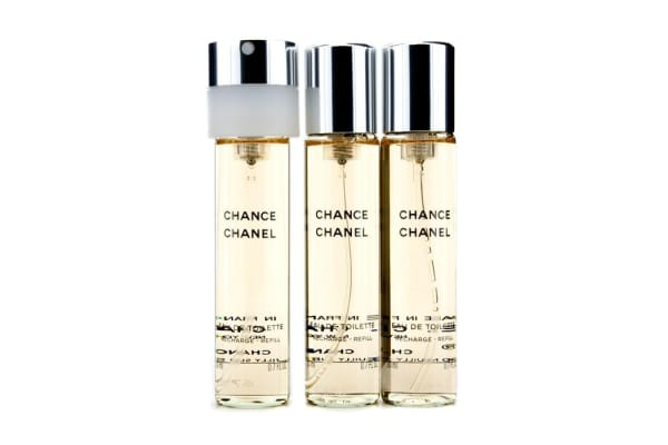 Chanel Chance Twist & Spray Eau De Toilette Refill (3x20ml/0.7oz)