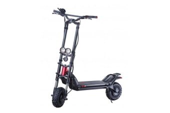 KAABO Electric Scooter Wolf Warrior 11 Black - Street Style
