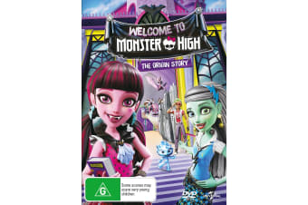 Monster High Welcome to Monster High DVD Region 4