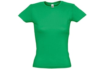 SOLS Womens/Ladies Miss Short Sleeve T-Shirt (Kelly Green) (M)