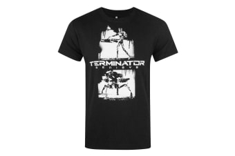 Terminator Mens Genisys Graffiti T-Shirt (Black)