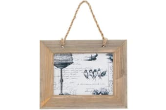 Something Different Wood Frame (Brown) (One Size)