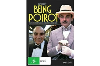 Being Poirot (DVD, 2015) *Documentary* BRAND NEW REGION 4
