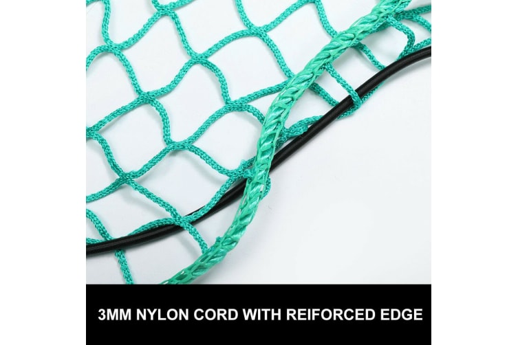 SAN HIMA 2x Cargo Net Ute Trailer Truck 2Mx3M Nylon 35Mm Mesh Bungee Cord With 15Pc Hook