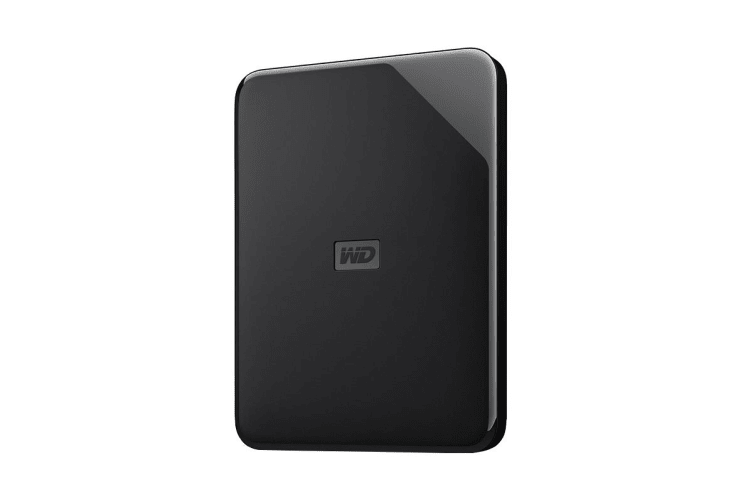 WD Elements SE 2TB USB 3.0 High-Capacity Portable Hard Drive (WDBEPK0010BBK-WESN)