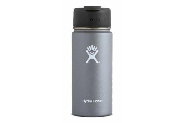 Hydro Flask 16oz / 473ml Wide Mouth w/ Flip Lid Coffee Flask - Graphite