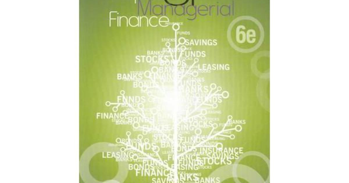 principles of managerial finance lawrence gitman Principles of managerial finance, global edition | lawrence j gitman, chad j  zutter | isbn: 9781292018201 | kostenloser versand für alle bücher mit versand .