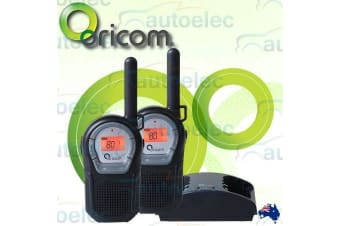 ORICOM PMR2000 1W WATT HANDHELD UHF TWO WAY RADIOS WALKIE TWIN PACK 80 CHANNEL