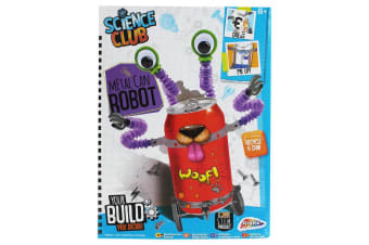 Grafix Science Club Metal Can Robot