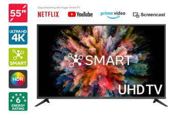 "Kogan 55"" Smart HDR 4K UHD LED TV (Series 8, NU8020)"