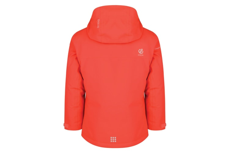 Dare 2B Childrens/Kids Entail Ski Jacket (Fiery Coral) (11-12 Years)