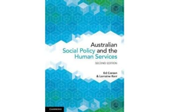 Australian Social Policy and the Human Services