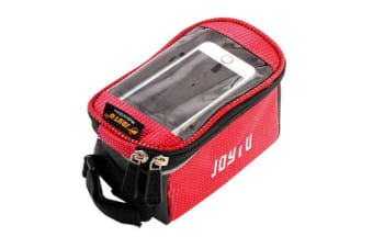 For iPhone 8 7 7 PLUS 6 5 5S SE 5C 4 4S 3 Bicycle Smartphone Bag Red